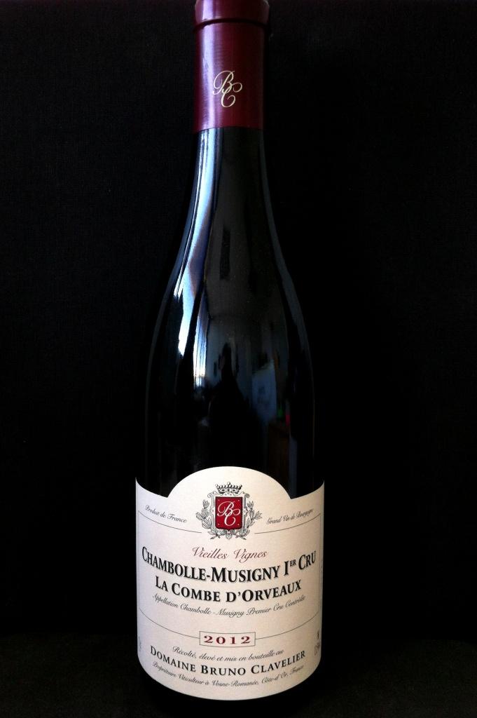 B Clavelier Chambolle Musigny 1er Cru La Combe d\'Orveaux V.V. 2012