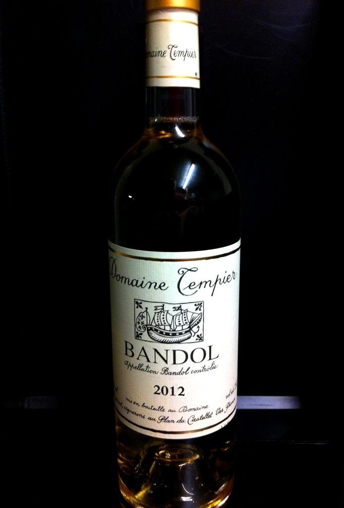Bandol Blanc Domaine Tempier 2016