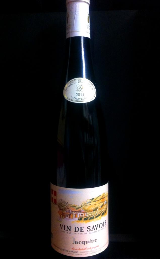 Vin de Savoie Jacquere 2012