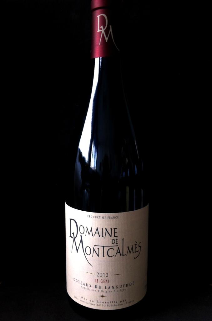 Domaine Montcalmes Coteaux du Languedoc Le Geai 2012