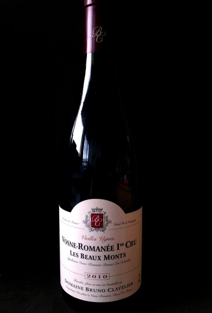 B Clavelier Vosne Romanee 1er Cru Les Beaux-Monts Vieilles Vignes 2012