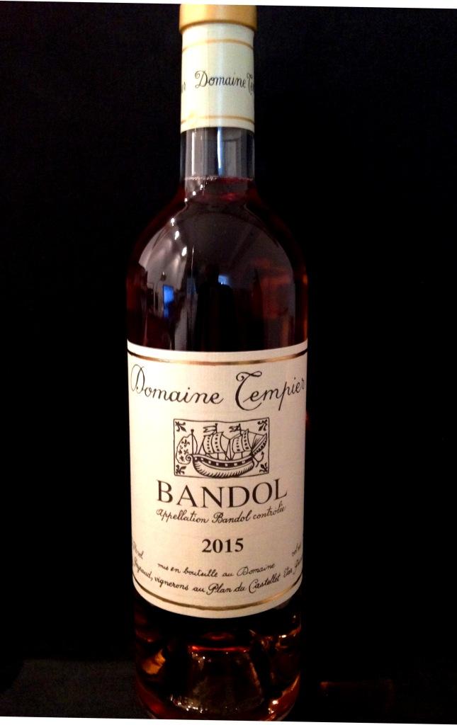 Bandol Rosé Domaine Tempier 2015