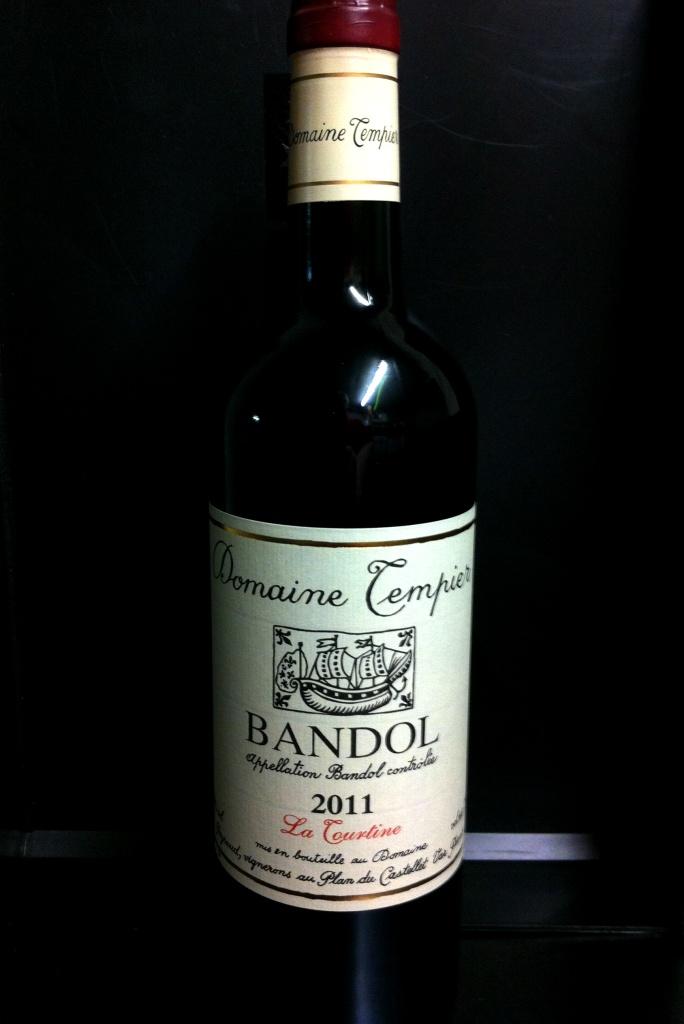 Bandol Domaine Tempier La Tourtine 2016