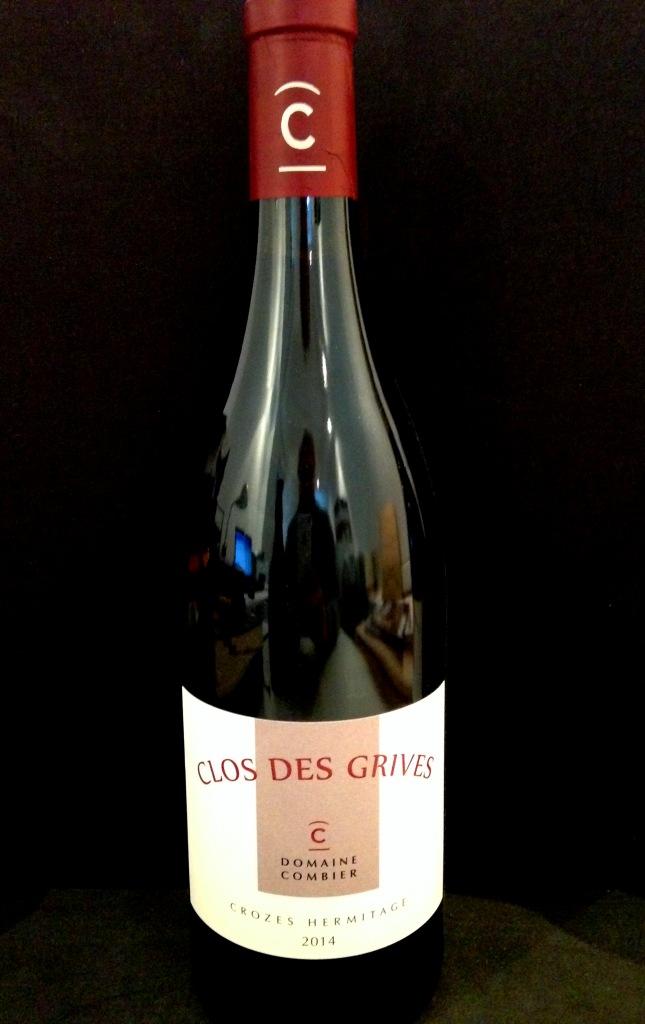 Crozes-Hermitage L. Combier Le Clos des Grives Rouge 2014