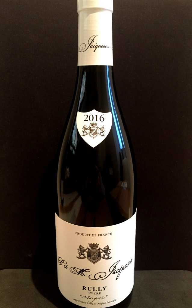 Domaine Jacqueson Rully 1er Cru Margotes  2016