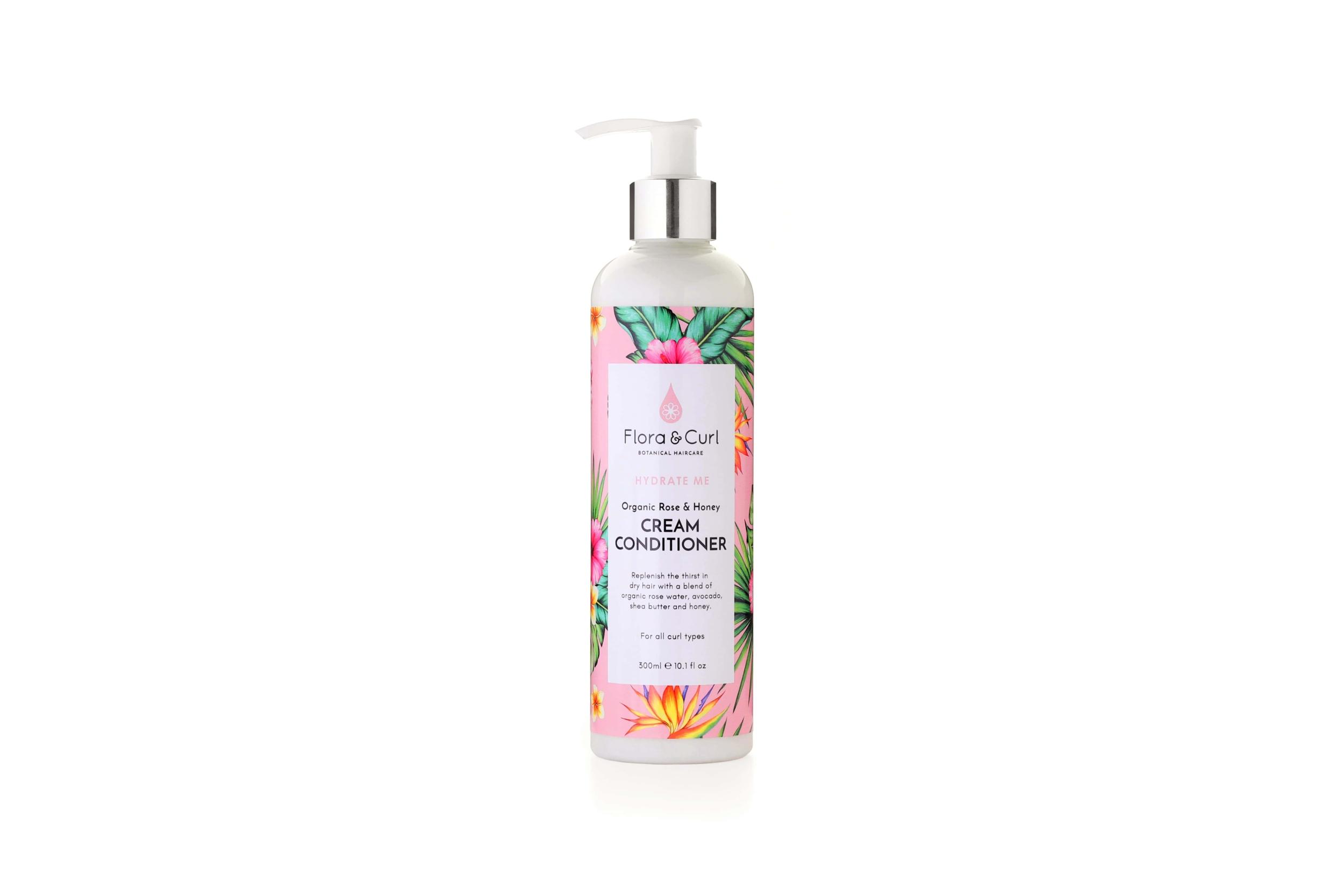 Organic Rose & Honey Cream Conditioner - Flora & Curl