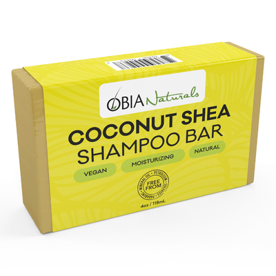 OBIA NATURAL COCONUT SHEA SHAMPOO BAR