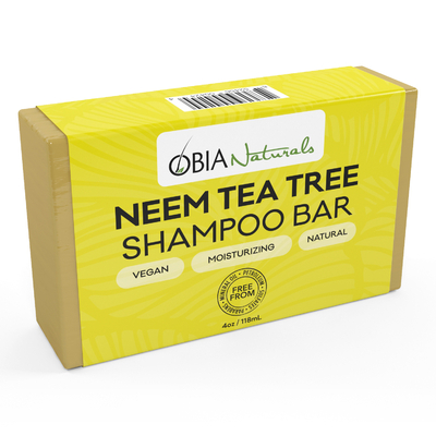 Obia naturals neem tea tree shampoo bar