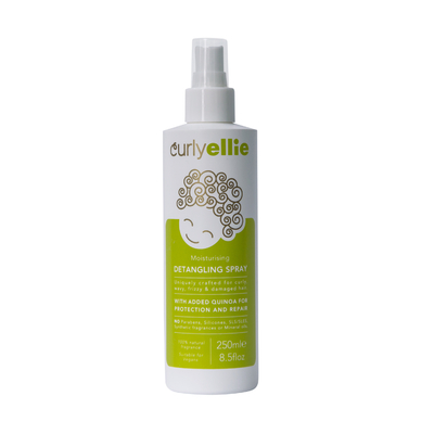 Curly ellie moisturizing detangling spray