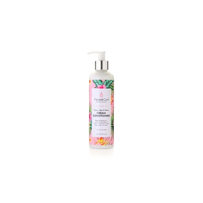 Organic rose & honey cream conditioner 300ml FLORA & CURL