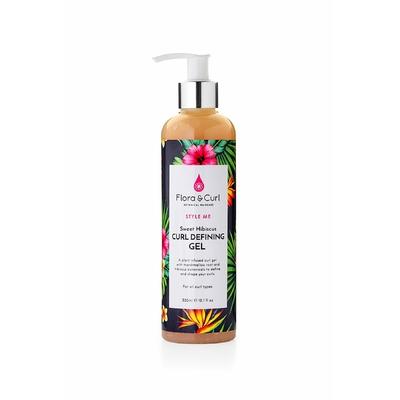 Sweet hibiscus curl defining gel Flora & curl