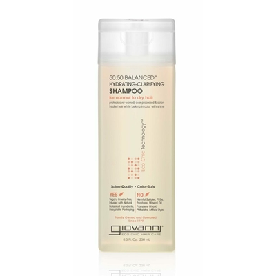 50:50 balanced hydrating shampoo