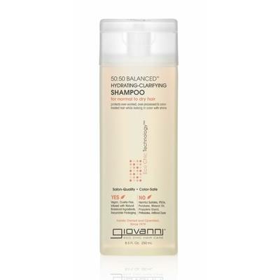 50:50 balanced hydrating shampoo