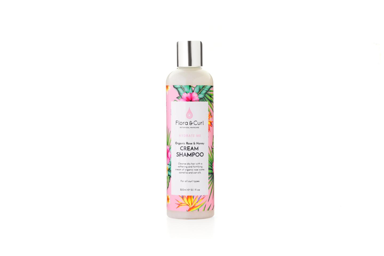 Organic Rose & Honey Cream Shampoo - Flora & Curl