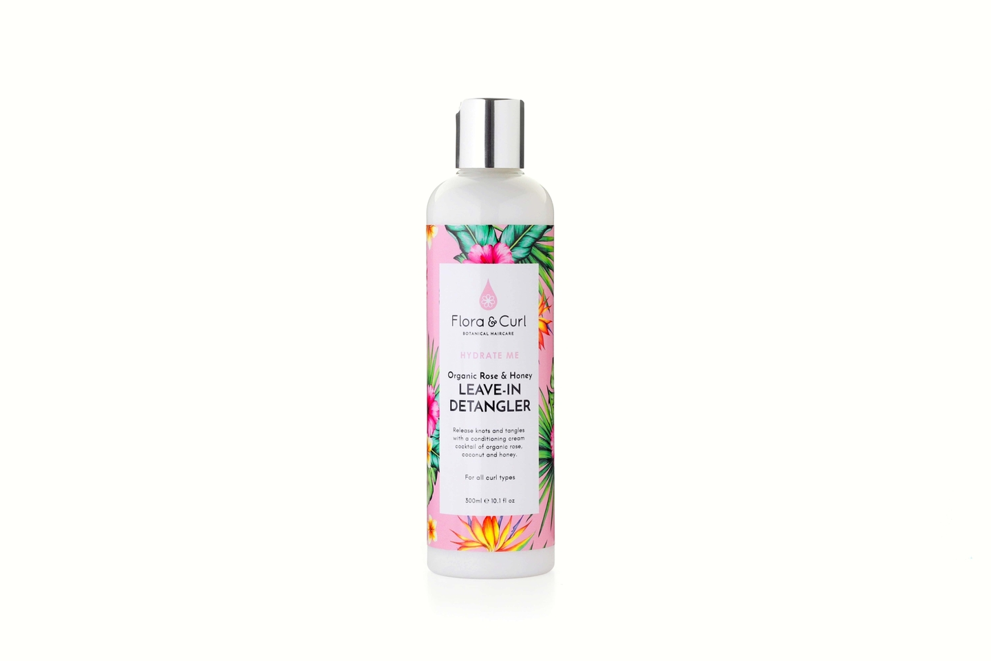 Organic Rose & Honey Leave-in Detangler  - Flora & Curl