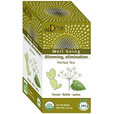 Infusion ortie - fenouil bio valdena 20 sachets