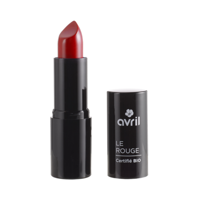 Rouge à lèvres bio Avril Hollywood Intense N°598