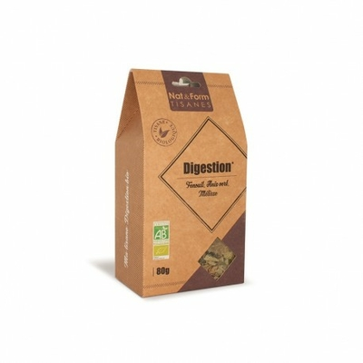 Tisane bio digestion Nat & Form - 80g
