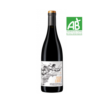 Figure libre Freestyle rouge domaine Gayda IGP Pays d'Oc 2019 - 75cl