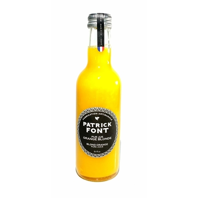 Pur jus Orange blonde bio Patrick Font - 25cl