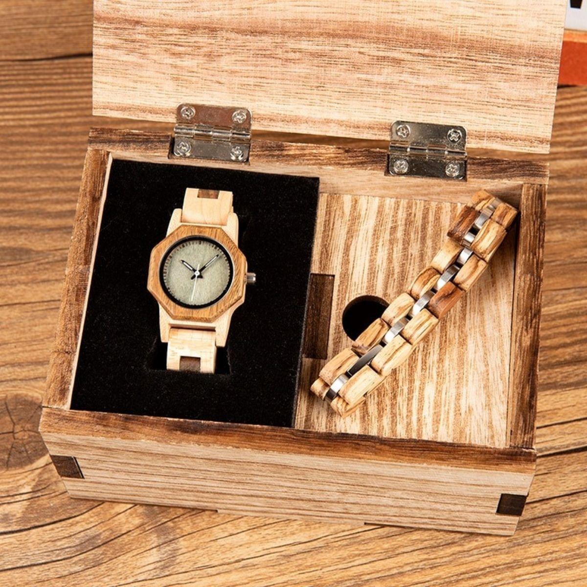 Coffret montre en bois Badi (3)
