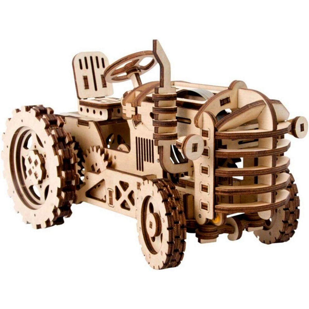 Puzzle Mécanique Tracteur 3D