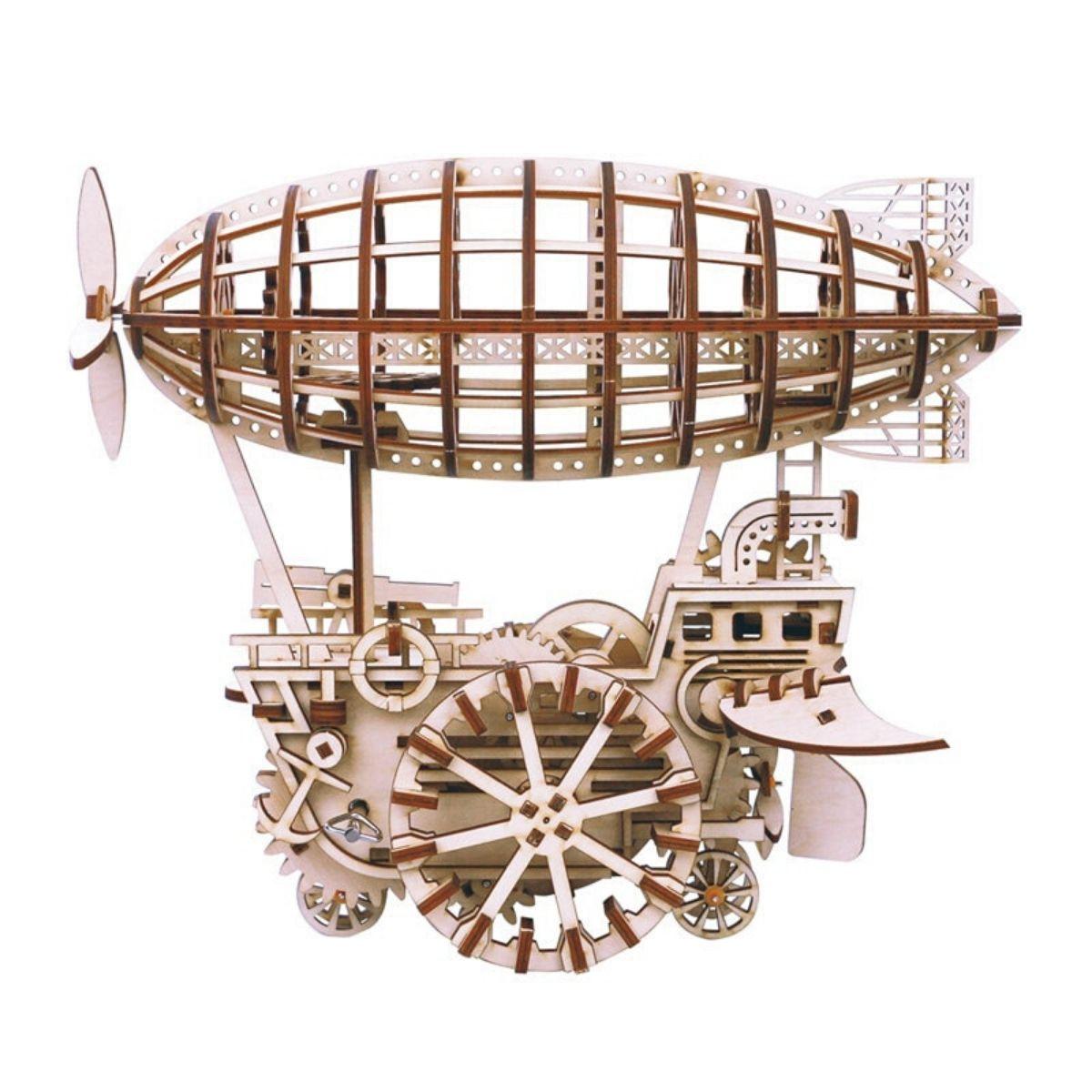 Puzzle Mécanique Dirigeable 3D