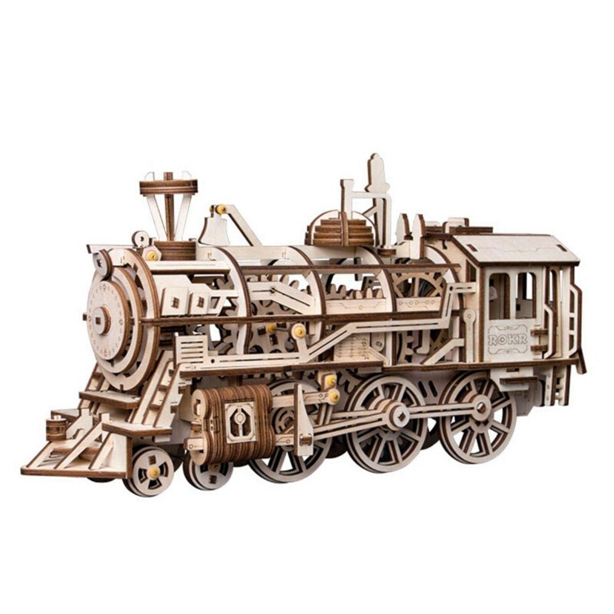 Puzzle Mécanique Locomotive 3D