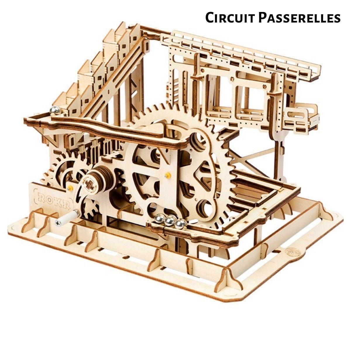 Puzzle en Bois 3D Circuit à Billes