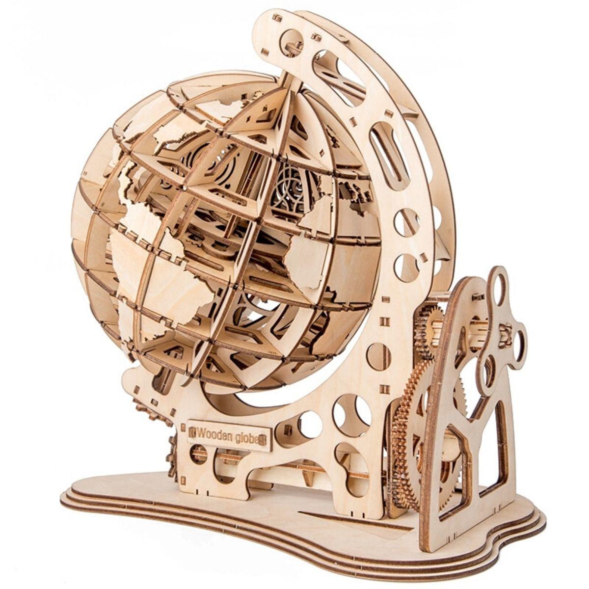 Puzzle Globe Bois 3D
