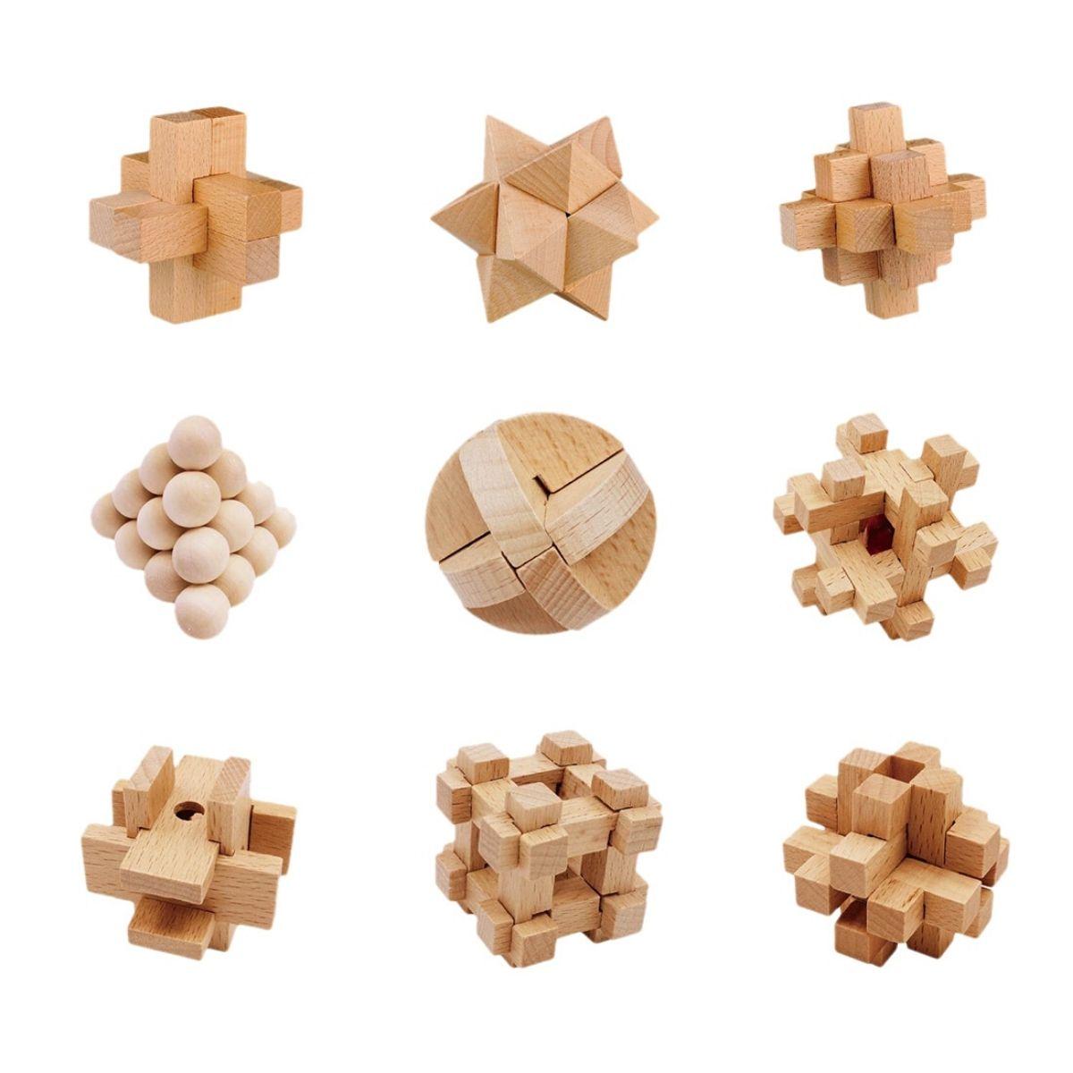 Puzzle Bois 3D Casse Tète