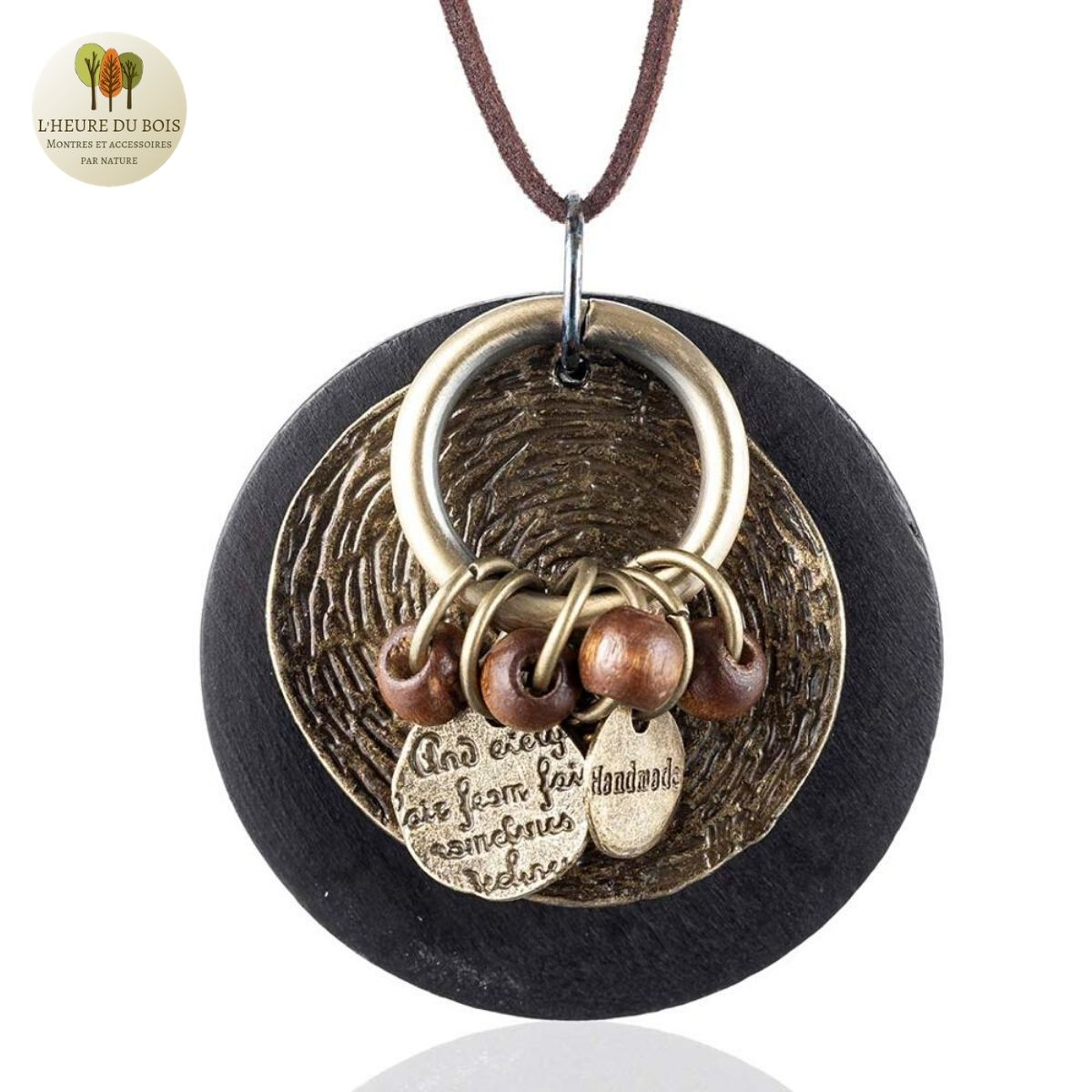 Collier long Foret