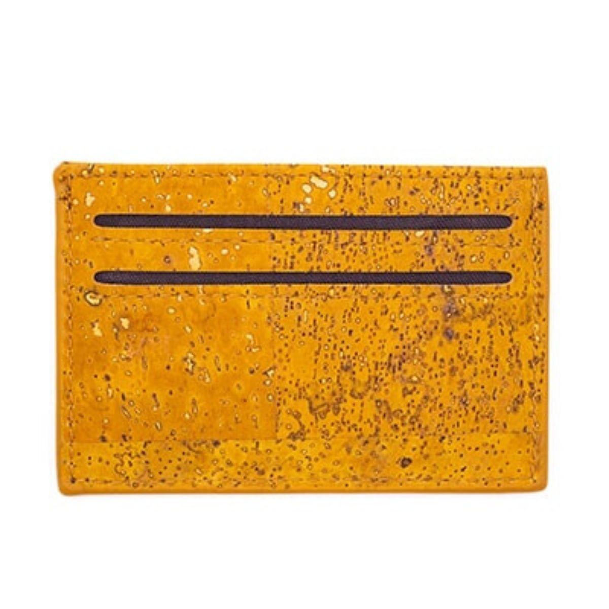 Porte carte en liège naturel Unakite