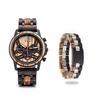 Coffret cadeau Montre en bois Ozigo et son bracelet (5)