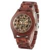 REDFIRE-luxe-Transparent-or-squelette-m-canique-hommes-montre-Vintage-rouge-bois-automatique-homme-montre-chiffres
