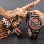 Coffret cadeau Montre en bois Ozigo et son bracelet (9)