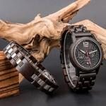 Coffret cadeau Montre en bois Ozigo et son bracelet (8)