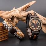 Coffret cadeau Montre en bois Ozigo et son bracelet (3)