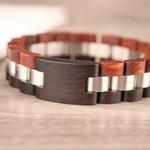Coffret cadeau montre en bois Wapa et son bracelet (13)