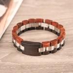 Coffret cadeau montre en bois Wapa et son bracelet (2)