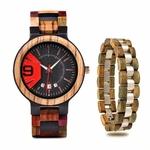 Coffret montre en bois Mélèze et son bracelet (7)