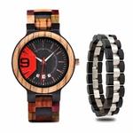 Coffret montre en bois Mélèze et son bracelet (9)