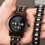 Coffret montre en bois sorbier et son bracelet (1)