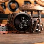 Coffret montre en bois sorbier et son bracelet (3)