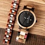 Coffret montre en bois Saquoia (2)