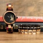 Coffret montre en bois Madrone (2)