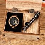 Coffret montre en bois Madrone (1)