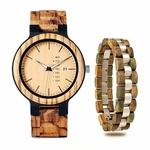 Coffret montre en bois Torreya (10)