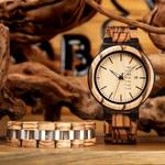 Coffret montre en bois Torreya (6)