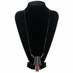 collier long et pendentif long en bois (6)